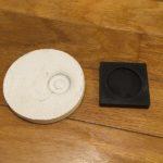 10年ものの洗濯機の音がうるさいので防振ゴムを使った