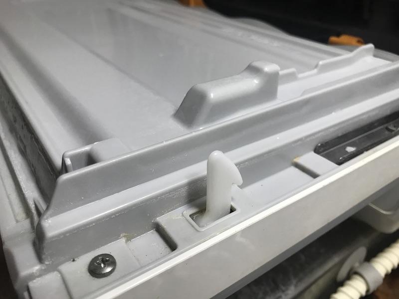 パナソニック NP-TR8 食洗機ドアフック