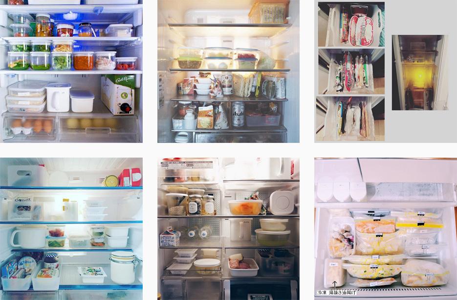 冷蔵庫記録の写真