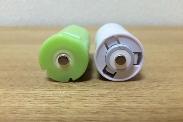 BTONEの電池スペーサー プラス側