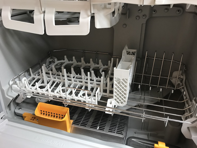 パナソニック NP-TR8 食洗機庫内