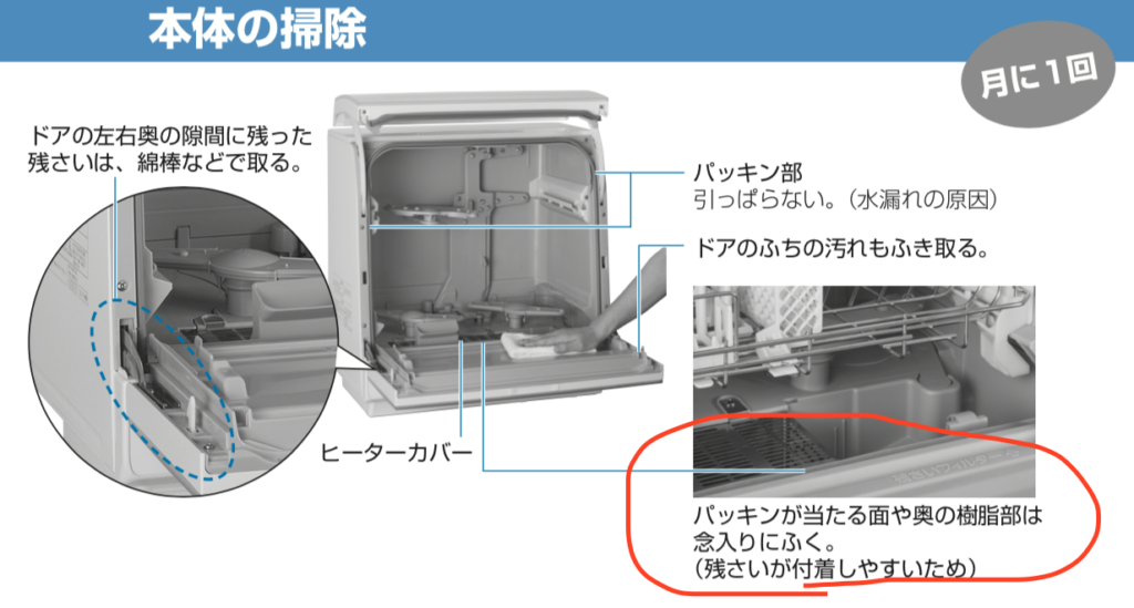 パナソニック NP-TR8 食洗機の説明書